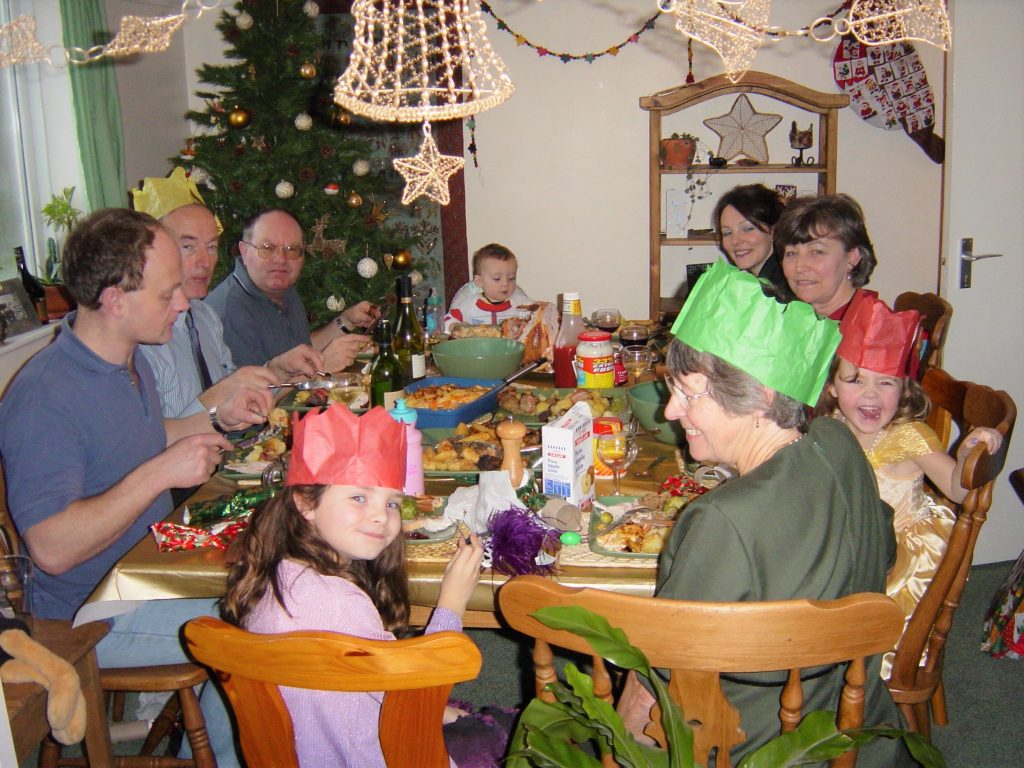 Christmas back in the day